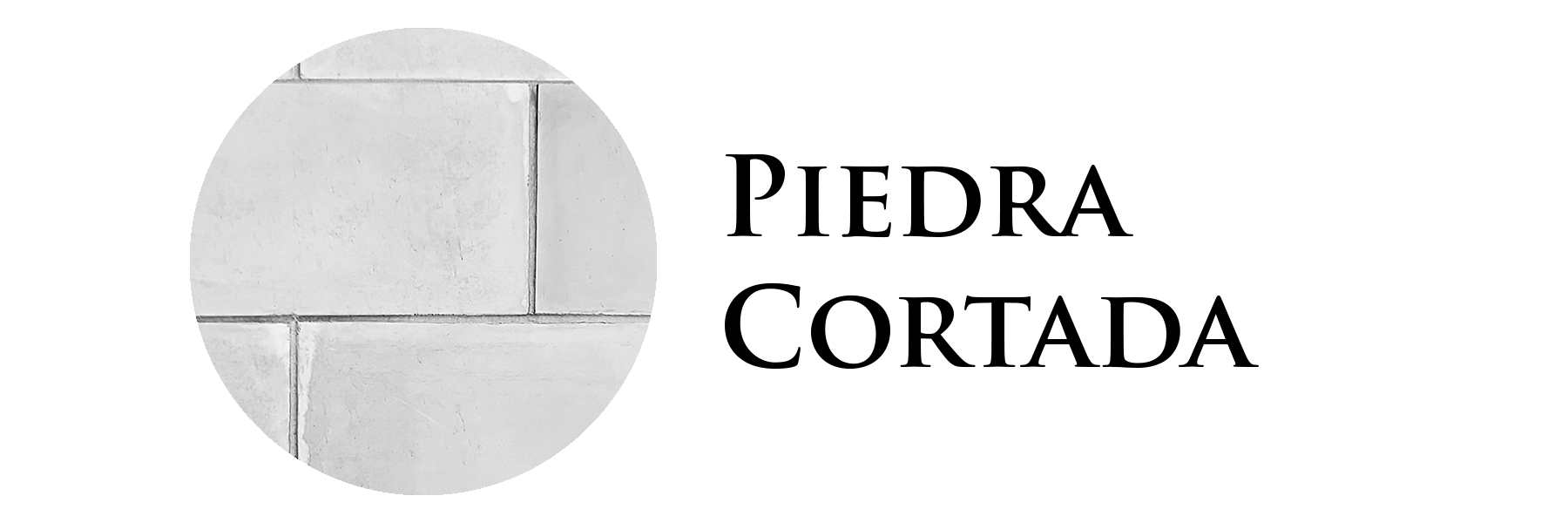 Piedra Cortada Logo